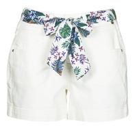 textil Mujer Shorts / Bermudas Freeman T.Porter GINGER MUZEY Snow / Blanco