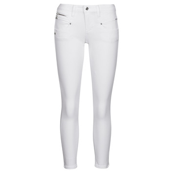 textil Mujer Pantalones con 5 bolsillos Freeman T.Porter ALEXA CROPPED S-SDM Blanco