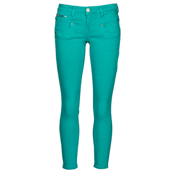 textil Mujer Pantalones con 5 bolsillos Freeman T.Porter ALEXA CROPPED NEW MAGIC COLOR Viridian / Verde