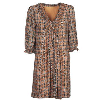 textil Mujer Vestidos cortos Freeman T.Porter JUNA SAMBA Naranja