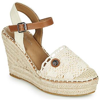Zapatos Mujer Sandalias Tom Tailor DEB Crema