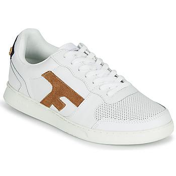 Zapatos Hombre Zapatillas bajas Faguo HAZEL LEATHER Blanco / Marrón