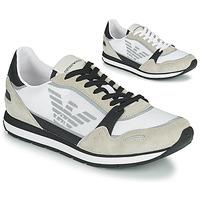Zapatos Hombre Zapatillas bajas Emporio Armani EMPAGNO Blanco