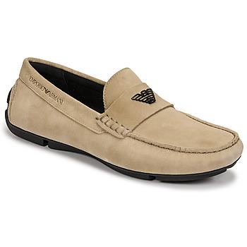 Zapatos Hombre Mocasín Emporio Armani ITOLIA Beige