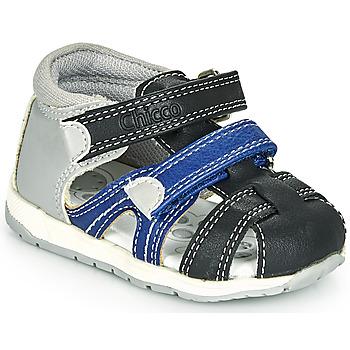 Zapatos Niño Sandalias Chicco GABRIEL Azul / Gris