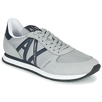 Zapatos Hombre Zapatillas bajas Armani Exchange ESPACIA Gris