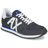 Zapatos Hombre Zapatillas bajas Armani Exchange ESPACIA Azul / Marino
