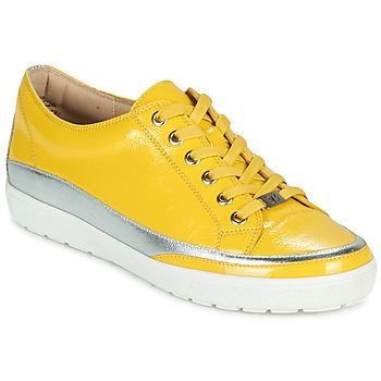 Zapatos Mujer Zapatillas bajas Caprice 23654-613 Amarillo / Plata
