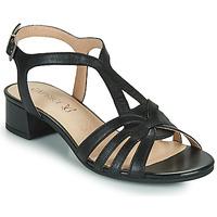 Zapatos Mujer Sandalias Caprice 28201-022 Negro