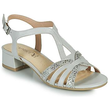 Zapatos Mujer Sandalias Caprice 28201-233 Beige