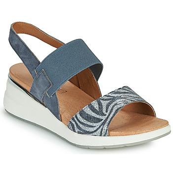 Zapatos Mujer Sandalias Caprice 28306-849 Gris