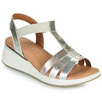 Zapatos Mujer Sandalias Caprice 28308-970 Plata
