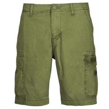 textil Hombre Shorts / Bermudas Napapijri NOSTRAN Verde