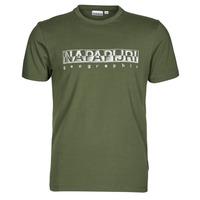 textil Hombre Camisetas manga corta Napapijri SALLAR SS Verde