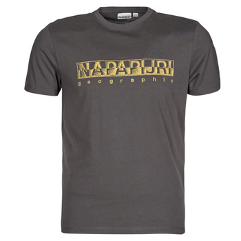 textil Hombre Camisetas manga corta Napapijri SALLAR SS Gris