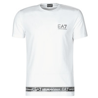 textil Hombre Camisetas manga corta Emporio Armani EA7 3KPT05-PJ03Z-1100 Blanco