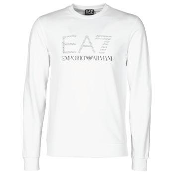 textil Hombre Sudaderas Emporio Armani EA7 3KPMD7-PJ2SZ-1100 Blanco