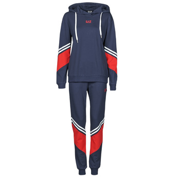 textil Mujer Conjuntos chándal Emporio Armani EA7 3KTV65-TJ3PZ-1554 Marino / Blanco / Rojo