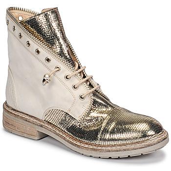 Zapatos Mujer Botas de caña baja Fru.it 6846-480-PLATINO Oro