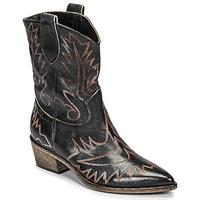Zapatos Mujer Botines Fru.it 6797-372-NERO Negro / Marrón