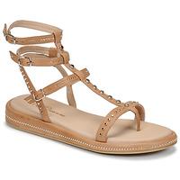 Zapatos Mujer Sandalias Fru.it 6782-100-CASTORO Beige