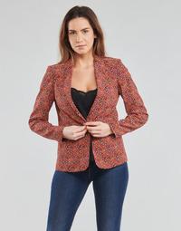 textil Mujer Chaquetas / Americana One Step VINNY Rojo / Multicolor