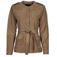 textil Mujer Chaquetas de cuero / Polipiel One Step DITA Cognac