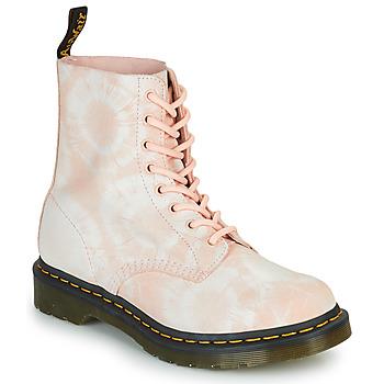Zapatos Mujer Botas de caña baja Dr Martens 1460 PASCAL Beige