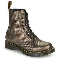 Zapatos Mujer Botas de caña baja Dr Martens 1460 PASCAL Topotea / Oro