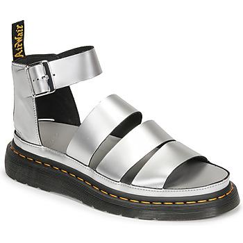 Zapatos Mujer Sandalias Dr Martens CLARISSA II Plata