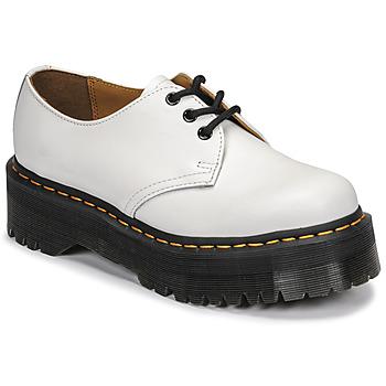 Zapatos Mujer Derbie Dr Martens 1461 QUAD Blanco