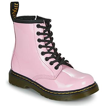 Zapatos Niña Botas de caña baja Dr Martens 1460 J Rosa