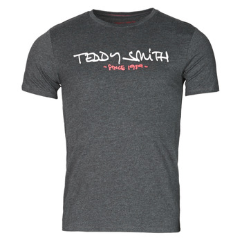 textil Hombre Camisetas manga corta Teddy Smith TICLASS Gris