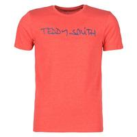 textil Hombre Camisetas manga corta Teddy Smith TICLASS Rojo