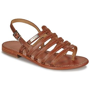 Zapatos Mujer Sandalias Les Tropéziennes par M Belarbi HERISSON Tan