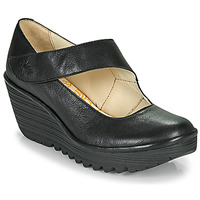 Zapatos Mujer Zapatos de tacón Fly London YASI Negro