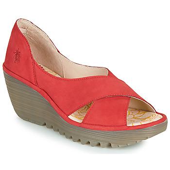 Zapatos Mujer Sandalias Fly London YOMA Rojo