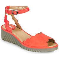 Zapatos Mujer Sandalias Fly London LUME Rojo