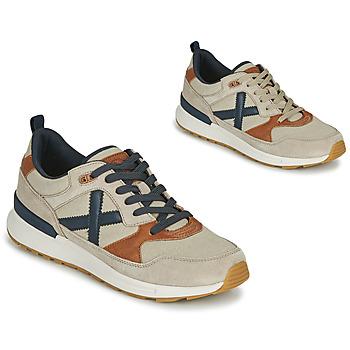 Zapatos Hombre Zapatillas bajas Munich ALPHA 49 Beige / Azul