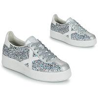 Zapatos Mujer Zapatillas bajas Munich BARRU SKY 65 Plata / Blanco