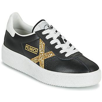Zapatos Mujer Zapatillas bajas Munich BARRU SKY 62 Negro / Oro
