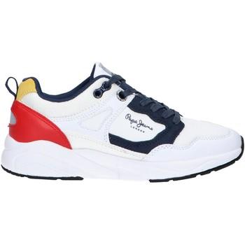Zapatos Niños Multideporte Pepe jeans PBS30440 ORBITAL Blanco