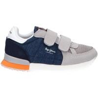 Zapatos Niña Multideporte Pepe jeans PBS30447 SYDNEY Azul