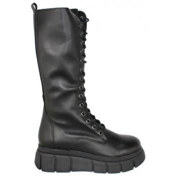 Zapatos Mujer Botas urbanas True Heart BOTA TRACK ALTA Negro