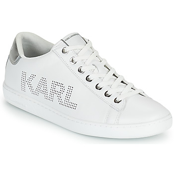 Zapatos Mujer Zapatillas bajas Karl Lagerfeld KUPSOLE II KARL PUNKT LOGO LO Blanco