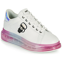 Zapatos Mujer Zapatillas bajas Karl Lagerfeld KAPRI KUSHION KARL IKONIC LO LACE Blanco / Multicolor