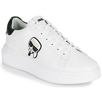 Zapatos Hombre Zapatillas bajas Karl Lagerfeld KAPRI MENS KARL IKONIC 3D LACE Blanco