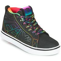 Zapatos Niña Zapatos con ruedas Heelys RACER 20 MID Negro / Multicolor