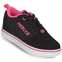 Zapatos Niña Zapatos con ruedas Heelys PRO 20'S Negro / Rosa