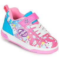 Zapatos Niña Zapatos con ruedas Heelys DUAL UP X2 Rosa / Azul